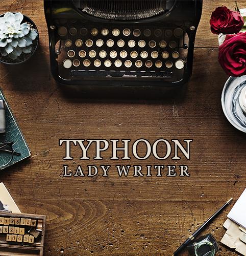 DISEÑO TYPHOON_LADY WRITER_500x500