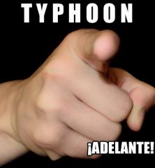 TYPHOON_¡ADELANTE!_500x500