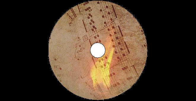 Diseño La Llama De Una Canción: Galleta