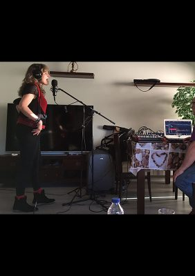 La Llama De Una Canción: Tere Gálvez (Estudios del Balcón de Santa Yolanda, 06/06/2021)
